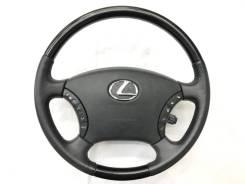 Оригинальный руль c черной косточкой Lexus