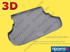 Коврик в багажник Dodge Journey 2008, Fiat Freemont JC 2011, черный