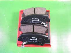 Колодки тормозные задние Jeenice Hyundai Solaris 1.4-1.6 10> / i30 1.4-1.6 11> / i40 1.6-2.0 11>, KIA RIO III 1.1D-1.6 11> / Optima 1.7D-2.0 12> WS240100