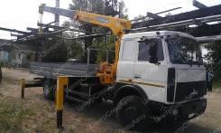 МАЗ 6303А5-340. с КМУ Soosan 736, 6 650куб. см., 6x4