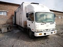 Hyundai Mega Truck. Рефрижератор Hyundai HD120( Mega Truck), 7 500куб. см., 6 700кг., 4x2