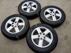 """Колеса на Тойоту 195/65/15 Michelin. 6.0x15"""" 5x114.30 ET50 ЦО 60,1мм."""