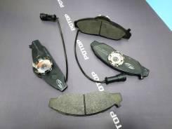 Колодки тормозные LP1145 MUSSO 03 / KORANDO 03