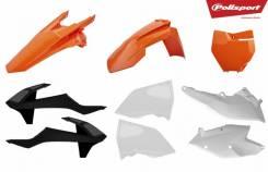 Комплект пластика Polisport KTM EXC/EXC-F/XC-W/XCF-W 17-19 Oem Ktm (18) 90751