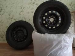 """Колёсные диски с зимней резиной для ВАЗ. 5.5x14"""" 4x98.00 ET-35 ЦО 58,5мм."""