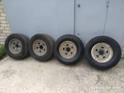 """Продам колеса на джип. 7.0x16"""" 6x139.70 ET10 ЦО 110,0мм."""