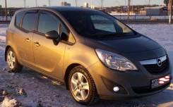 Дефлекторы окон (ветровики) Opel Meriva B 2010-