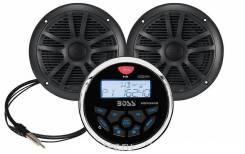 Аудиосистема морская влагозащищенная BOSS MGR350B с колонками 240 Ватт