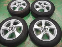 """R 17 215/60 Toyota (оригинал) диски с летней резиной 4шт. 6.5x17"""" 5x114.30 ET45"""