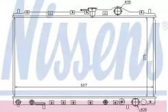 Радиатор Mitsubishi Chariot 92- [668x375] (доставка 2-3 часа) Nissens [62887]