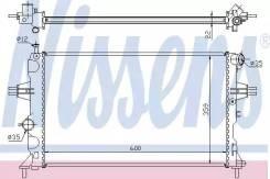 Радиатор двигателя OPEL Astra G 1 6-1 8 98- (доставка 2-3 часа) Nissens [630041]