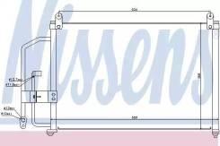 Радиатор кондиционера Daewoo Lanos 97- ZAZ Sence (97-) 1.3 i (доставка 2-3 часа [94412]