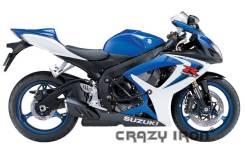 Crazy IRON ДУГИ Suzuki GSXR600/750 `06-`10 + Слайдеры НА ДУГИ