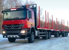 САВ. Продается сортиментовоз Mersedes-Benz Actros 3346 A в Красноярске, 12 000куб. см., 20 000кг., 6x6. Под заказ