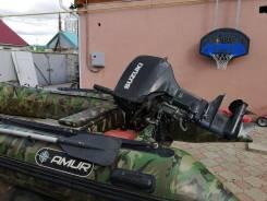 Лодка пвх 365 с мотором сузуки 30с