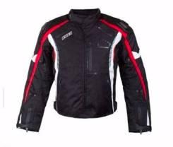 [RUSH] Мотокуртка Hazard (текстиль) черный