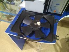 Вентилятор радиатора кондиционера. Hyundai Accent Hyundai Verna