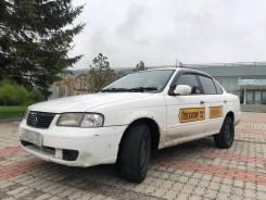 Nissan Sunny. Без водителя
