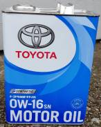 Toyota Motor OIL SN 0W-16 (4L) 08880-12105