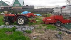 Yanmar F195. Продаются трактора Yanmar 150 и 100 с прессподборщиком и всеми навеска, 30 л.с.