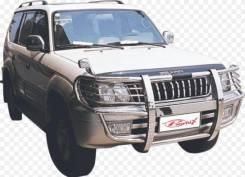 Защита переднего бампера Toyota Land Cruiser Prado 90/95 #3