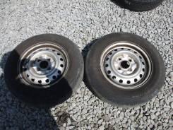 "Продам два летних колеса 165 R14 LT с Nissan NV200. x14"""