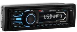Магнитола морская MR1308UABK 200 Вт, AUX, USB, SD 1-DIN, черный, BOSS