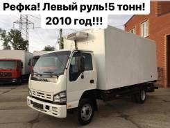 Isuzu NQR. 75 Рефрижератор 2010 год! Левый РУЛЬ в Новосибирске, 5 200куб. см., 5 000кг., 4x2