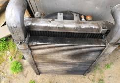 Радиатор маз с кулером
