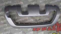 Накладка на бампер. Renault Duster, HSA, HSM F4R, H4M, K4M, K9K
