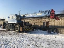 Работы крана Tadano 25 тонн Kobelko 45 тонн