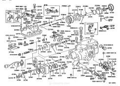 Клапан Toyota 22104-54060 k