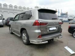 Защита заднего бампера (уголки) Lexus LX-570 LX-450 2015+