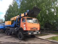 Продается экскаватор планировщик EW-25M1.102 на шасси автомобиля Камаз