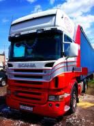 Scania R420. Продается сцепка Scania+штора, 12 000куб. см., 25 000кг., 4x2