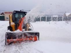 Снегометатели шнекороторные для минипогрузчиков