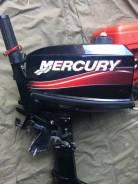 Mercury. 5,00л.с., 2-тактный, бензиновый, нога S (381 мм), 2014 год. Под заказ из Хабаровска