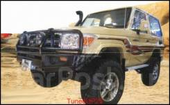 Силовой передний бампер на Toyota Land Cruiser 79 (2007-)