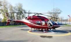 Аренда легкого двухдвигательного вертолета Bell 429