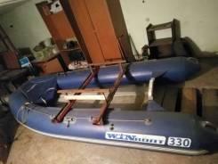 Надувная лодка rib (риб) стеклопластиковое дно winboat 330