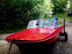 Продам лодку с подвесным лодочным мотором
