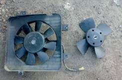 Вентилятор охлаждения радиатора. Лада: Приора, 2109, 2114 Самара, 2112, 2114