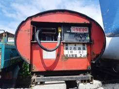 Цистерна для перевозки дизельного топлива. Мобильная заправка.