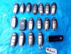 Ключ зажигания, смарт-ключ. Nissan: Cube, Cube Cubic, March, Wingroad, X-Trail, Elgrand, Serena, Tiida, Latio, Tiida Latio, Dualis, AD, Lafesta, Note...