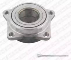 Ремкомплект ступицы колеса, содержит крепежные элементы и 2х-рядный шариковый по NTN/SNR [R17325]