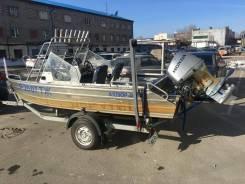 Моторная лодка Аллюр 4к в Томске