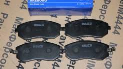 Колодки тормозные Akebono Subaru Forester, Impreza, Legacy, XV, BRZ, O