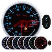 Датчик Depo Racing - 52mm черный 7 цветов - давление масла
