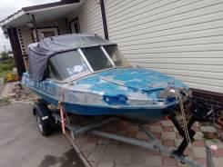 Лодка Обь—М и мотор ямаха30