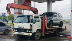 Mazda Titan. Эвакуатор + кран Мазда Титан , лебедка, 4 600куб. см., 5 000кг., 4x2